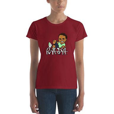 Women's short sleeve t-shirt - RAFA smile (S)