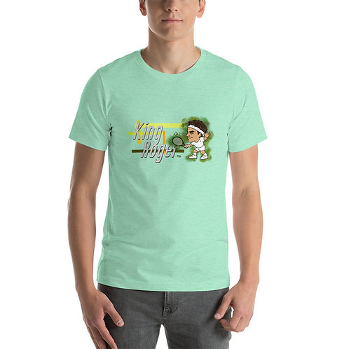 Short-Sleeve Unisex T-Shirt - Roger King of Grass