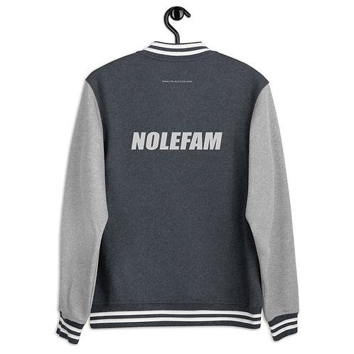 Men's Letterman Jacket - Novak NoleFam