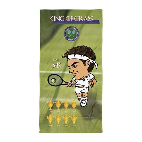 Towel - Roger Federer King of Grass