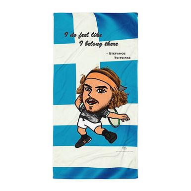Towel - Stefanos Tsitsipas