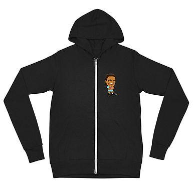 Unisex zip hoodie - Rafa 2020 Cute Smile