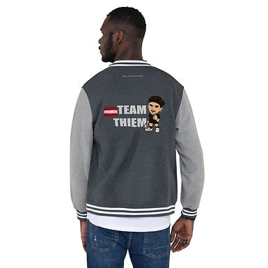 Men's Letterman Jacket - Domi Team Thiem