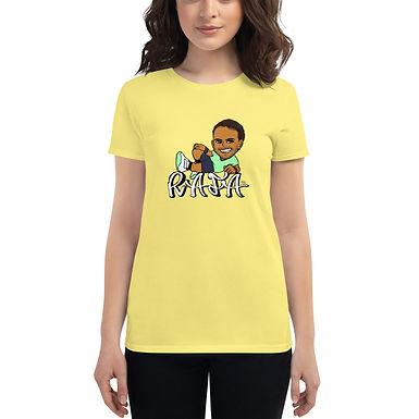 Women's short sleeve t-shirt - RAFA smile (D)