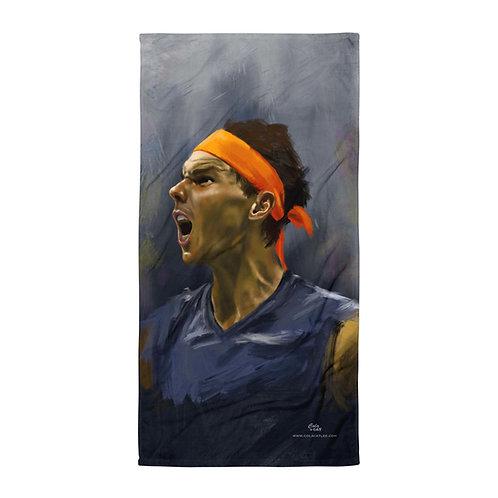 Towel - Rafael Nadal on fire