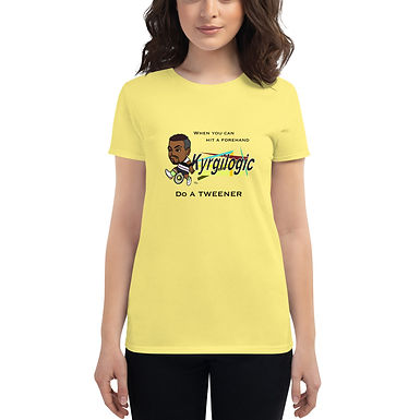 Women's short sleeve t-shirt - Nick Tweener