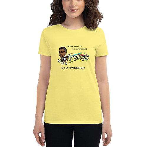 Women's short sleeve t-shirt - Nick Tweener