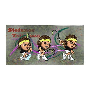 Towel - Stefanos Tsitsipas single backhand