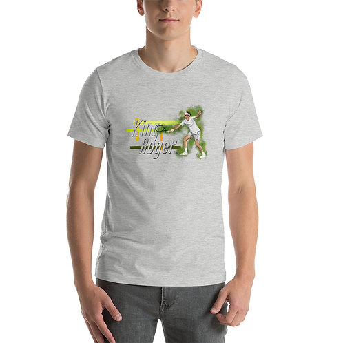 Short-Sleeve Unisex T-Shirt - Roger King of Grass R