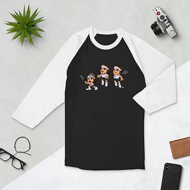 Unisex 3/4 sleeve raglan shirt - Stefanos