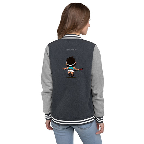 Women's Letterman Jacket - Fly With Caro