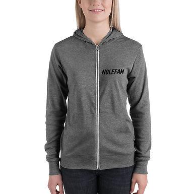 Unisex zip hoodie - Novak Celebrate
