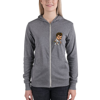 Unisex zip hoodie - Stan the man