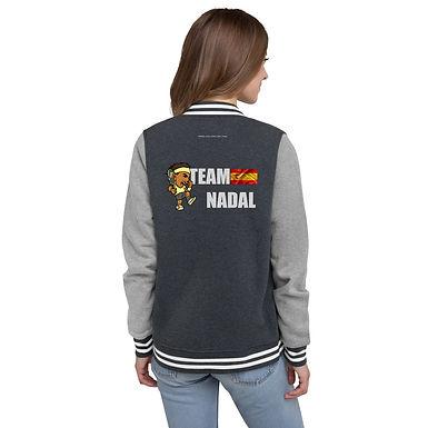 Women's Letterman Jacket - Rafa Team Nadal