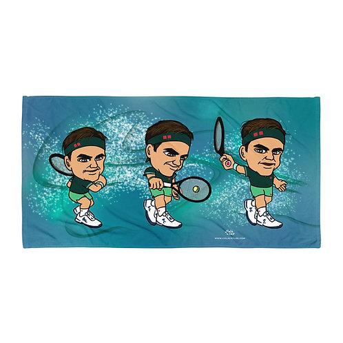 Towel - Roger Federer elegant backhand