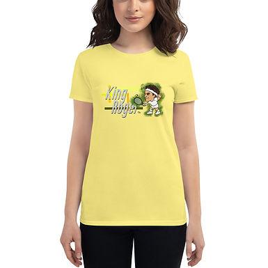 Women's short sleeve t-shirt - Roger King of Grass