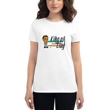 Women's short sleeve t-shirt - Rafa 2020 Cute Smile