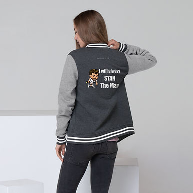 Women's Letterman Jacket - Stan the man