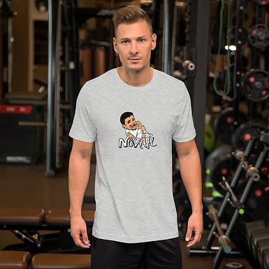 Short-Sleeve Unisex T-Shirt - Novak Taste of Victory