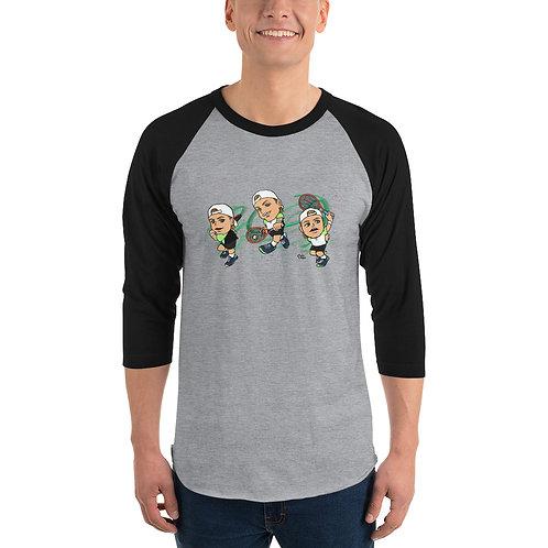 Unisex 3/4 sleeve raglan shirt - Denis Shapovalov