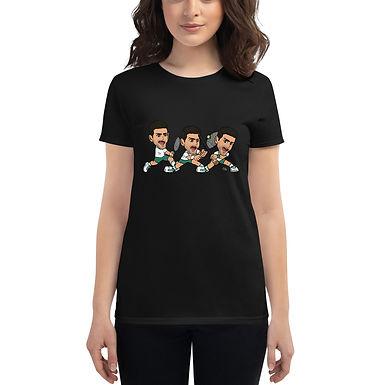 Women's short sleeve t-shirt - Novak (Extend your leg for backhand)