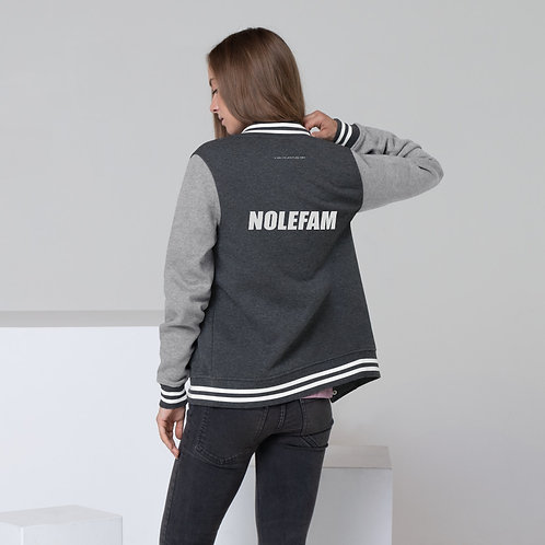 Women's Letterman Jacket - Novak NoleFam