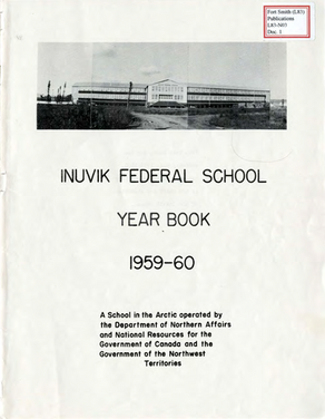 Yearbooks at Residential Schools