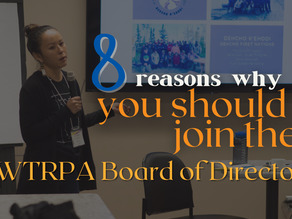 8 Reasons to Join the NWTRPA Board of Directors