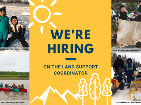 We're Hiring: On the Land Support Coordinator