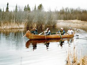 Racing down the Big River
