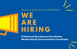 We're hiring for TWO positions at the NWTRPA!