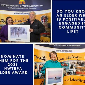 2021 NWTRPA Elder Award Nominations Now Open