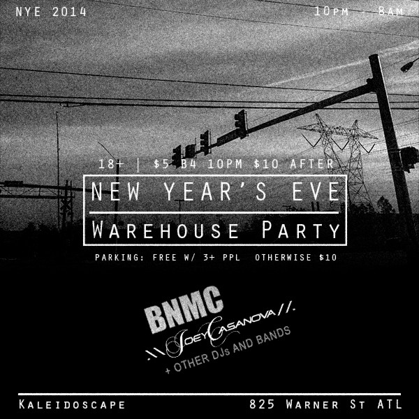 NYE2014 Warehouse Party