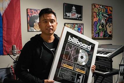 Joey Casanova Billboard Plaque QC vol 1