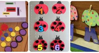Más de 40 juegos matemáticos para trabajar los conceptos matemáticos