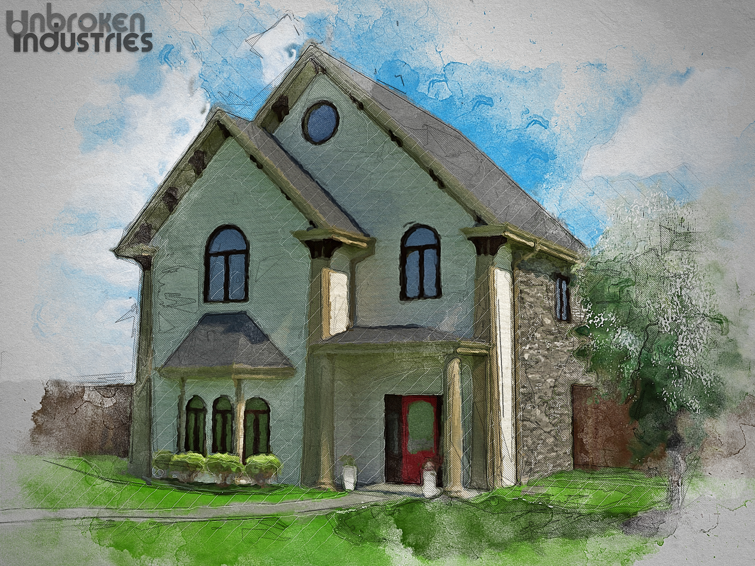 Residence Exterior Rendering