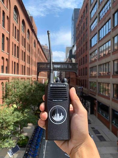 walkie talkie rentals