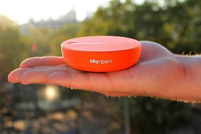 Wifi Hopspot rental New York Skyroam Solis X Hudson Radios Two way radio rentals