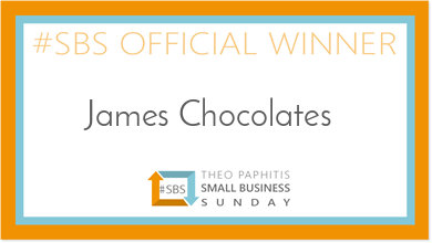 Exciting News For James Chocolates!