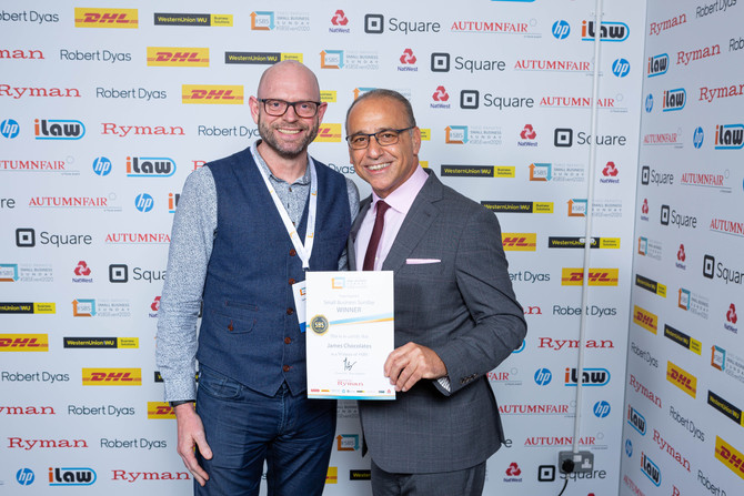 Theo Paphitis SBS Event 2020 at ICC in Birmingham