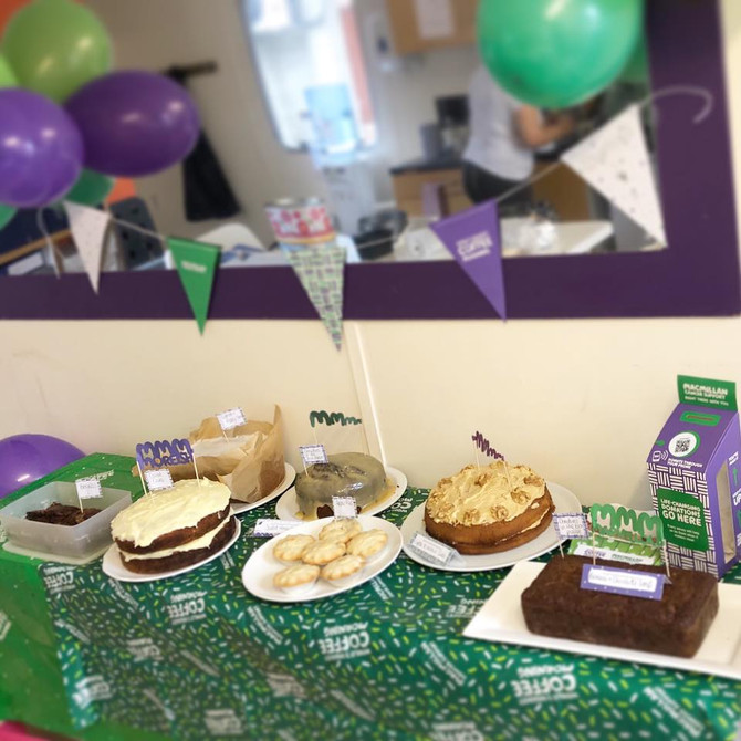 James Chocolates raises £83.37 for Macmillan's World's Biggest Coffee Morning