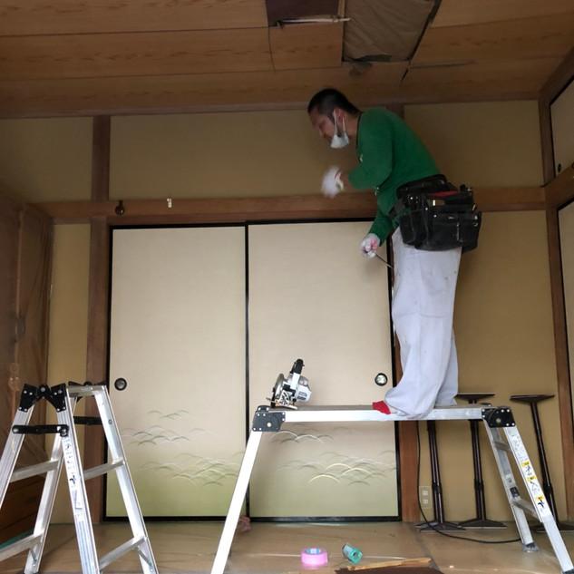 天井改修1