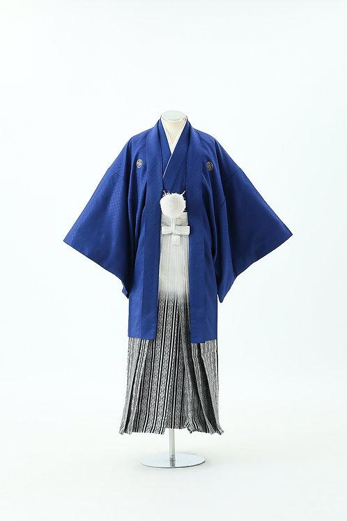 青紋付とグラデーション袴 HH-15