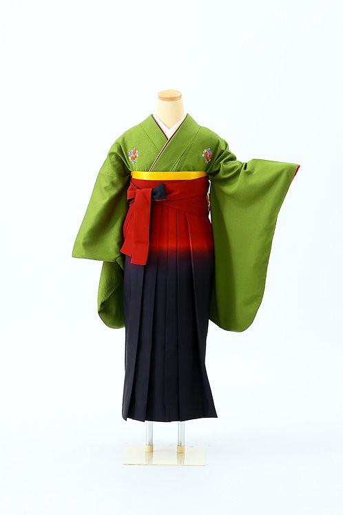 小華文と赤黒の袴 SH-03