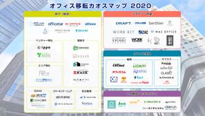 「オフィス移転カオスマップ2020」をプレスリリースを配信いたしました。