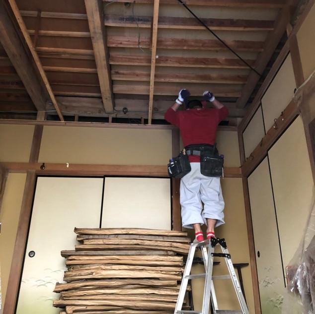 天井改修2