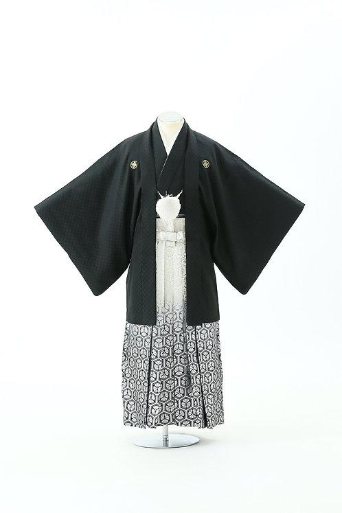 黒紋付亀甲 HH-17