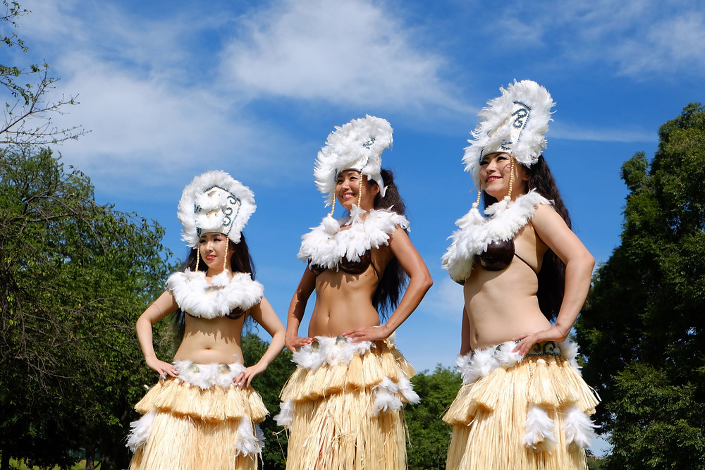 tahitian dance costume