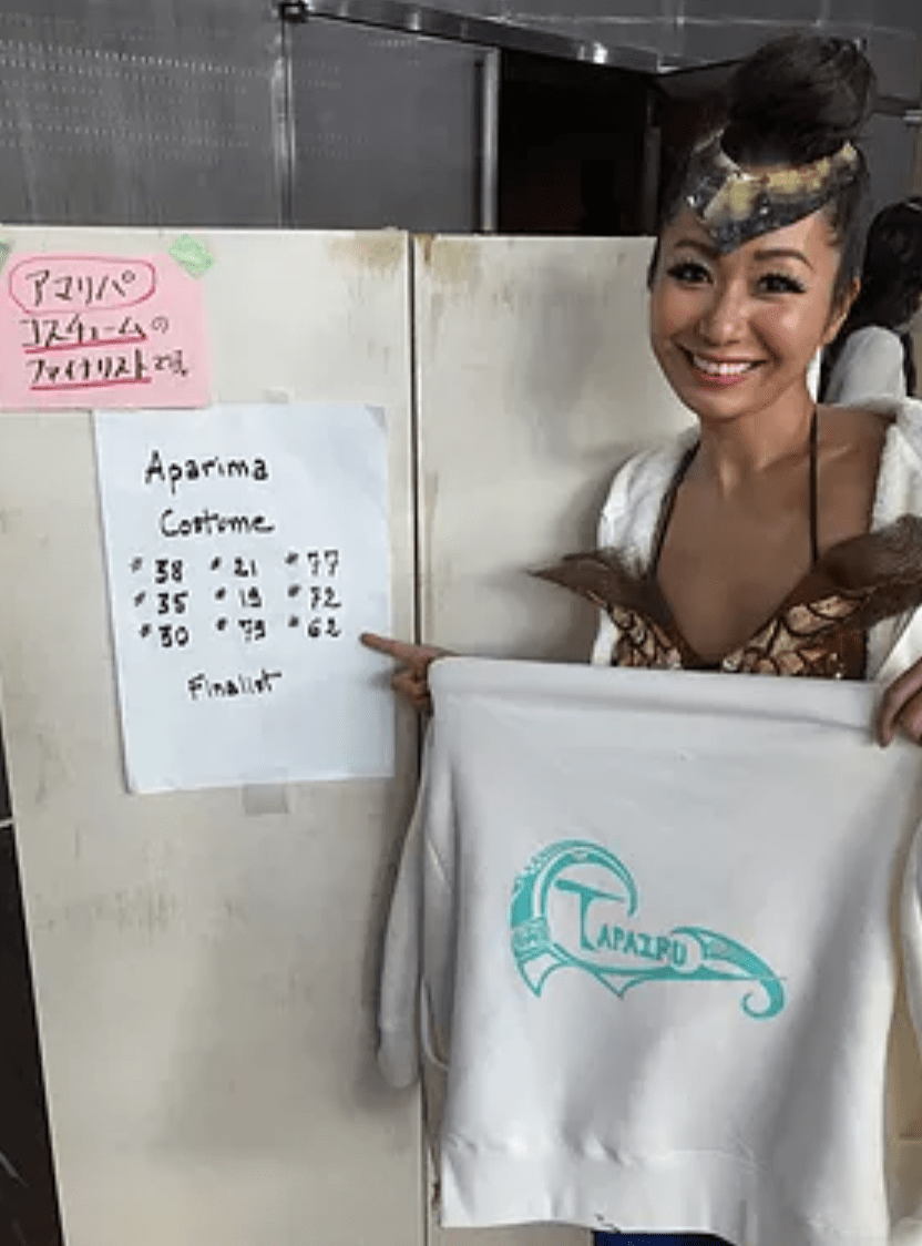 新宿・荻窪タヒチアンダンス タパイル衣装賞