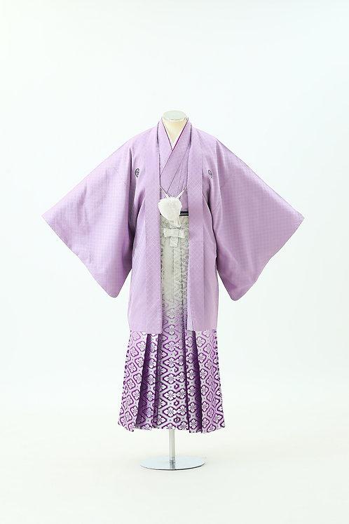 紫紋付と花菱 HH-16